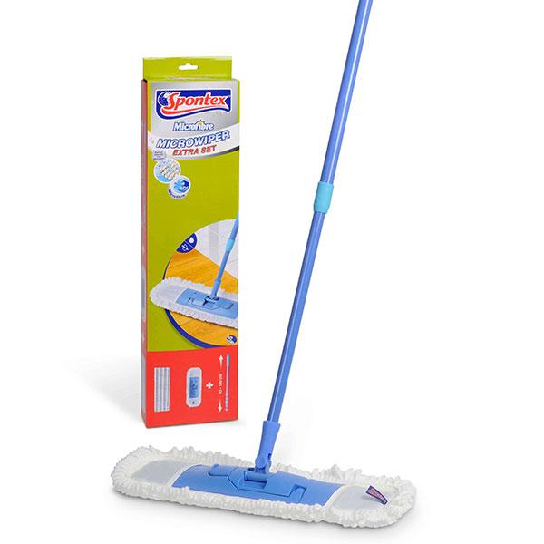 Spontex Plochý mop Microwiper Extra Set