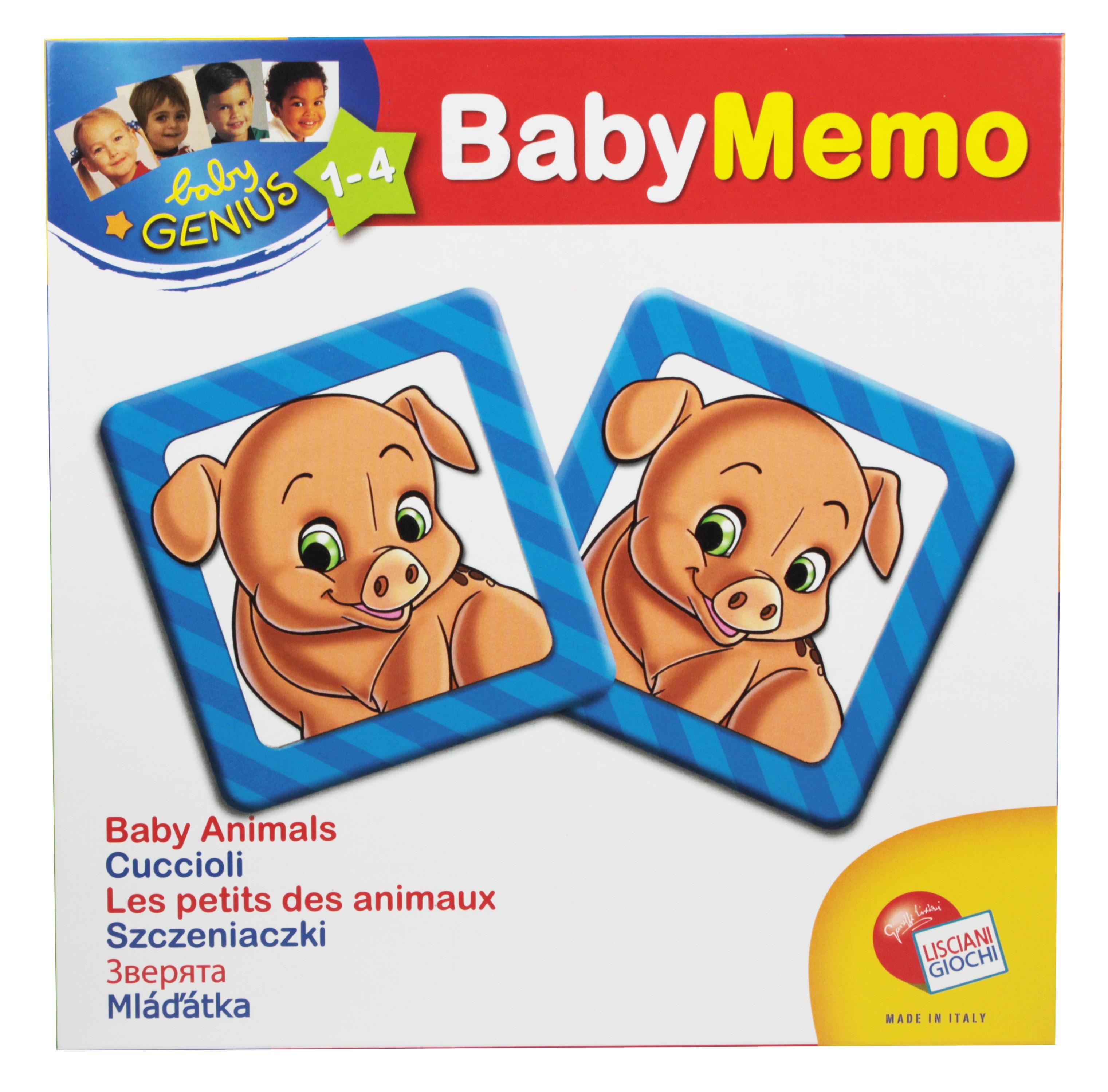 Baby Genius Baby Pexeso 3 druhy