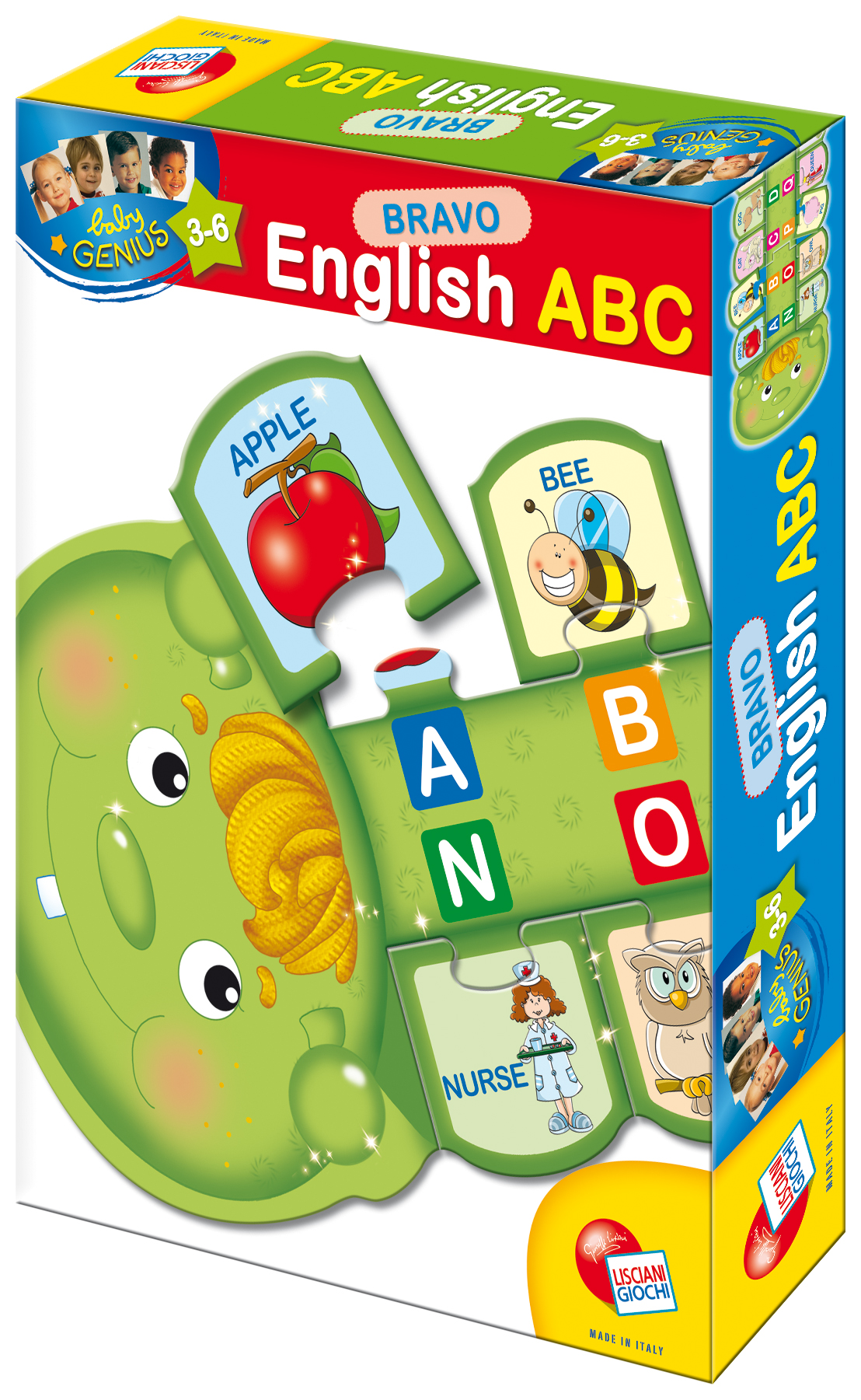 Baby Genius Bravo Anglická abeceda English ABC