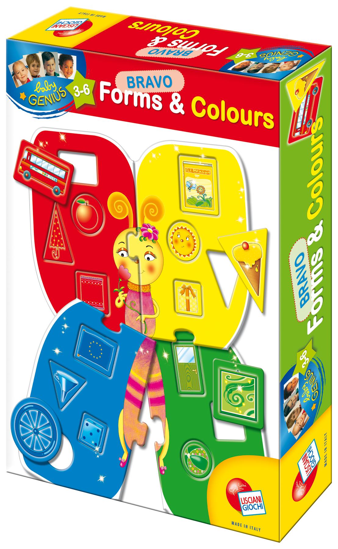 Baby Genius Bravo Poznej tvary a barvy