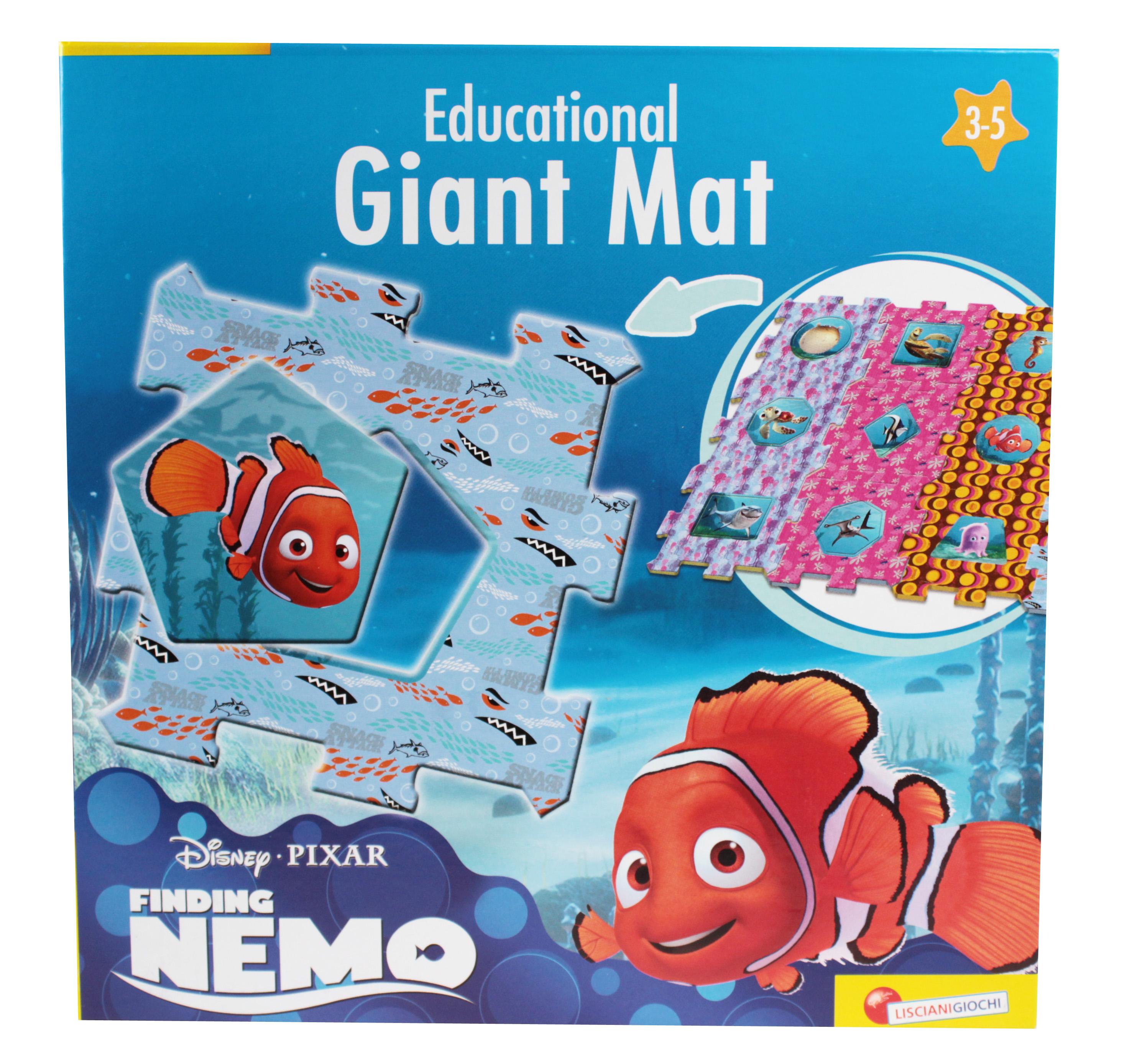 Disney Hledá se Nemo puzzle 2 v 1 12 velkých dílů