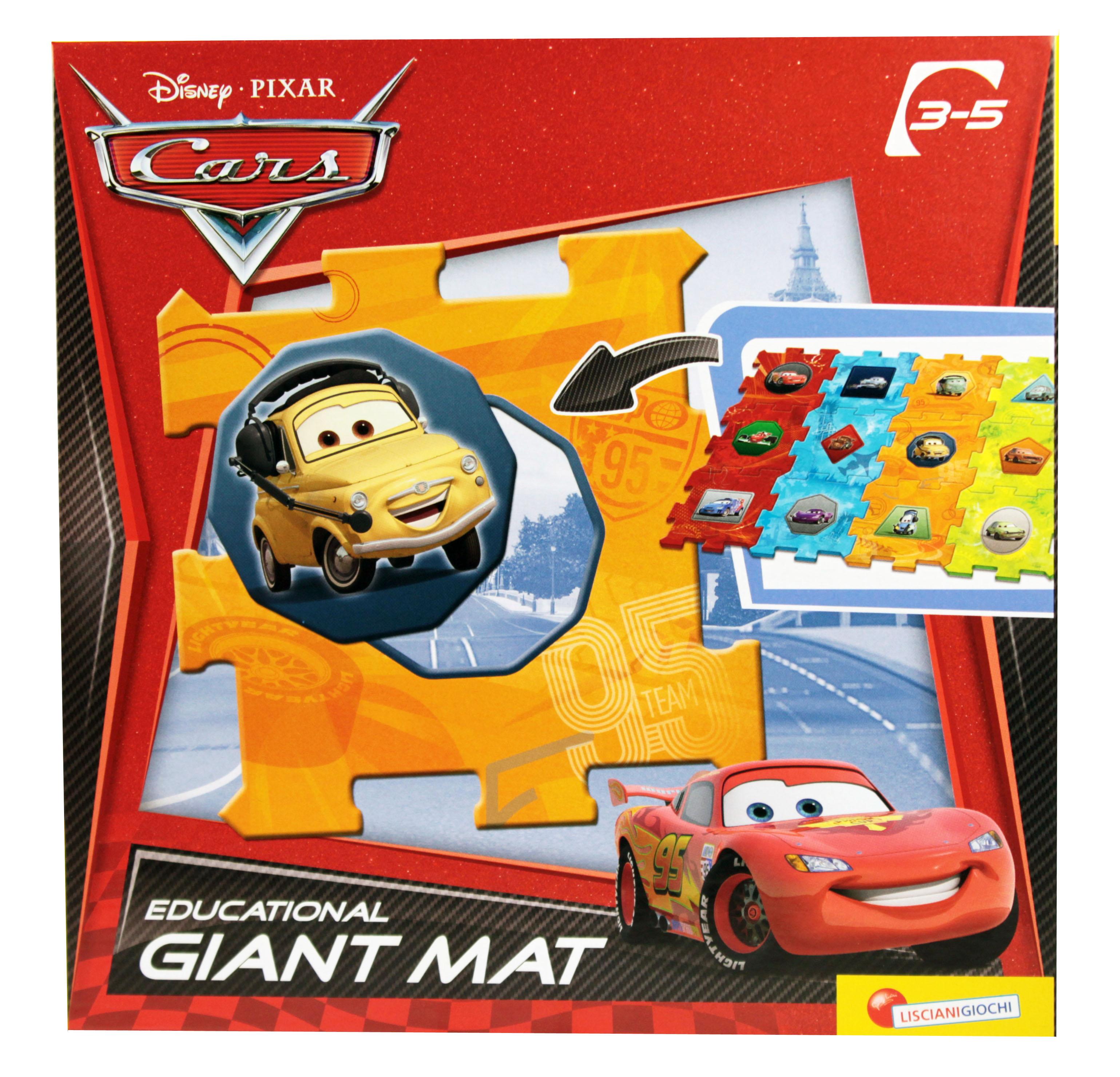Disney Cars puzzle 2 v 1 12 velkých dílů