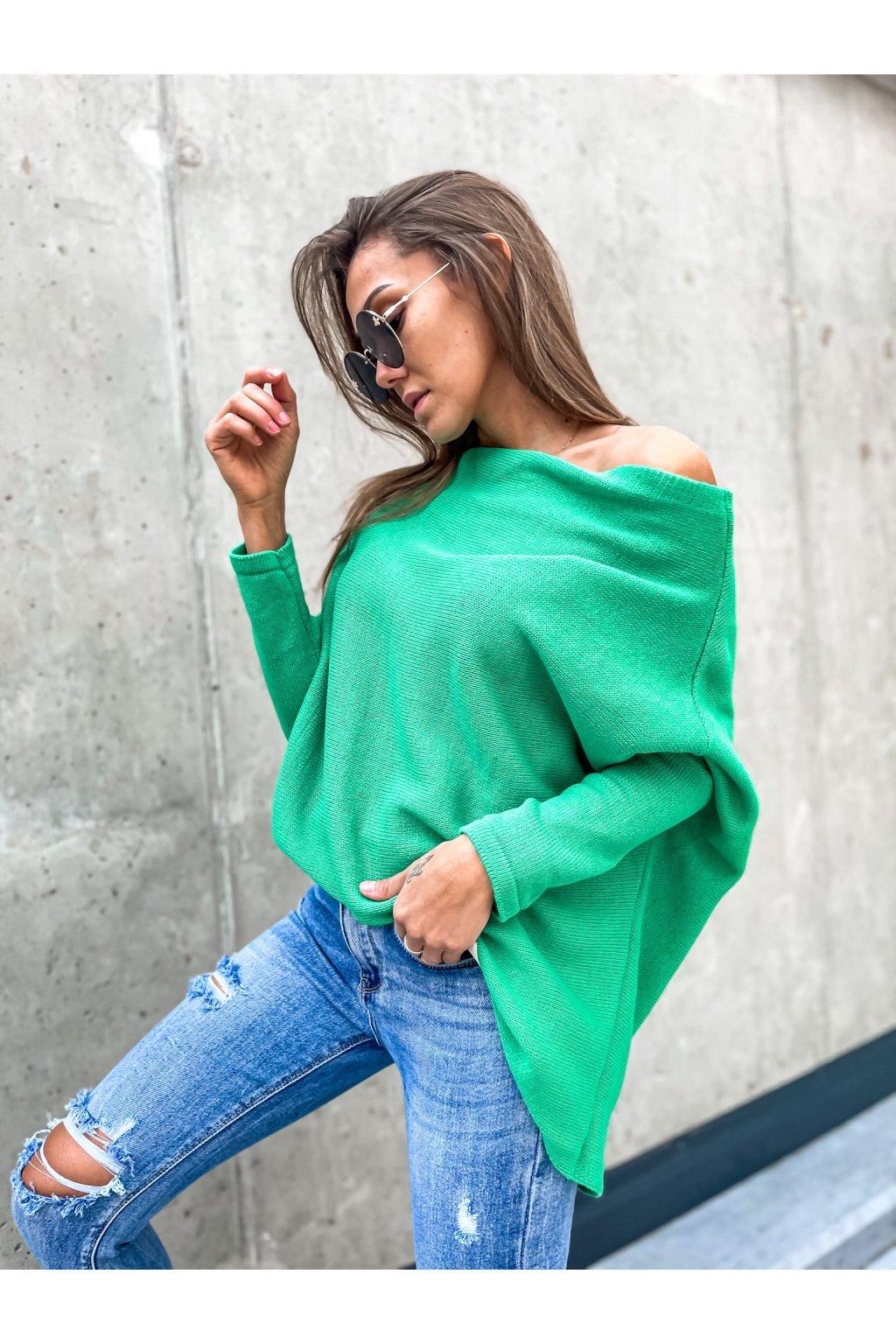 damsky svetr elene green eshopat cz 1