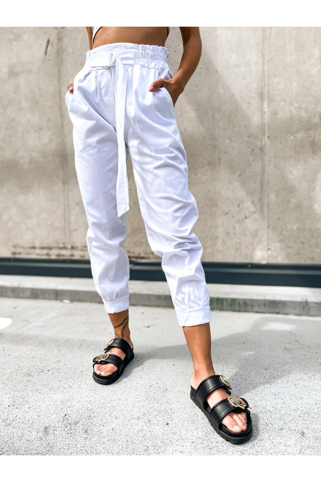 damske kalhoty s vysokym pasem italy white eshopat cz 1