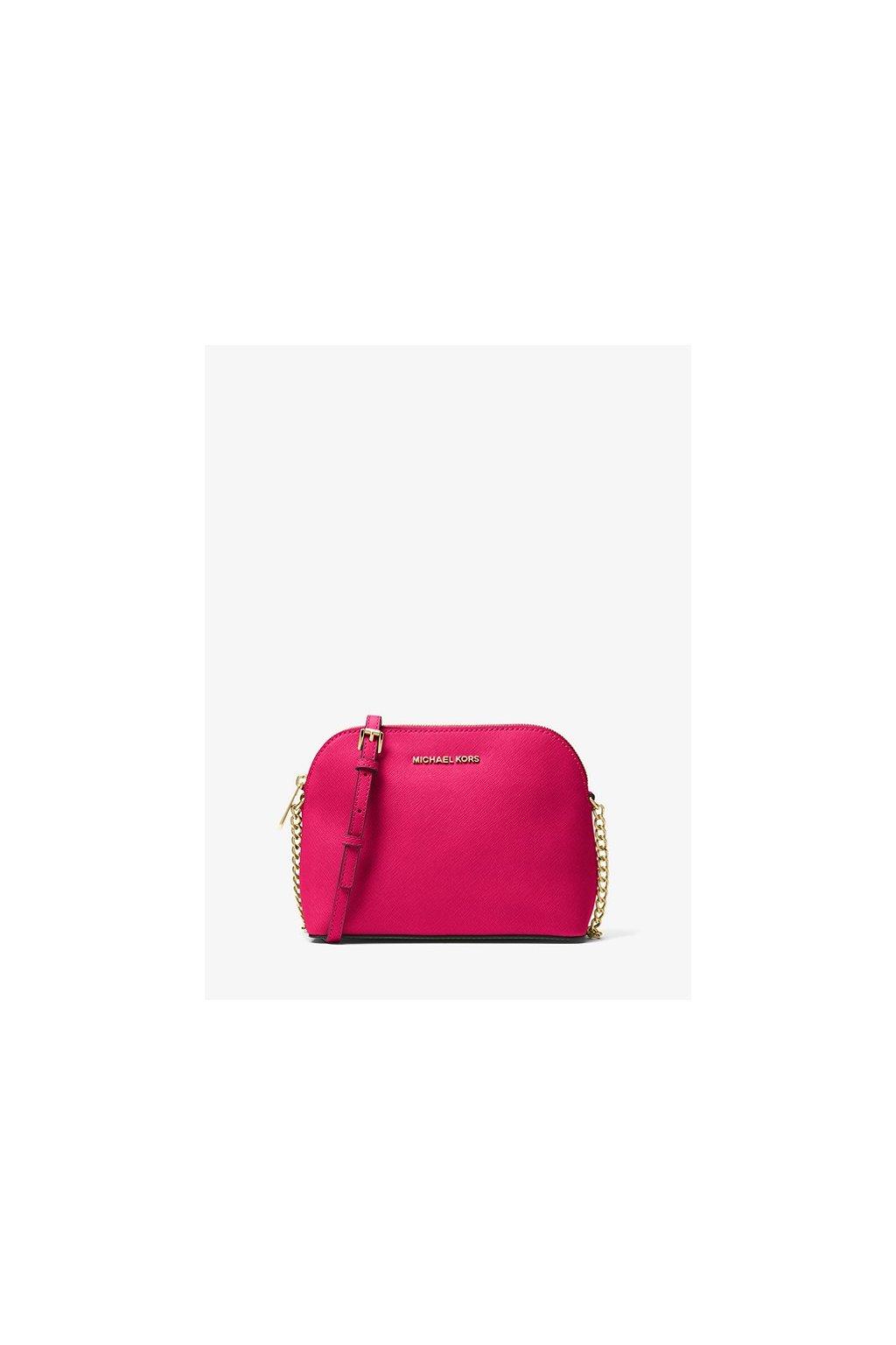 Crossbody Michael Kors Cindy Large Saffiano Leather Crossbody Ultra Pink eshopat cz 1