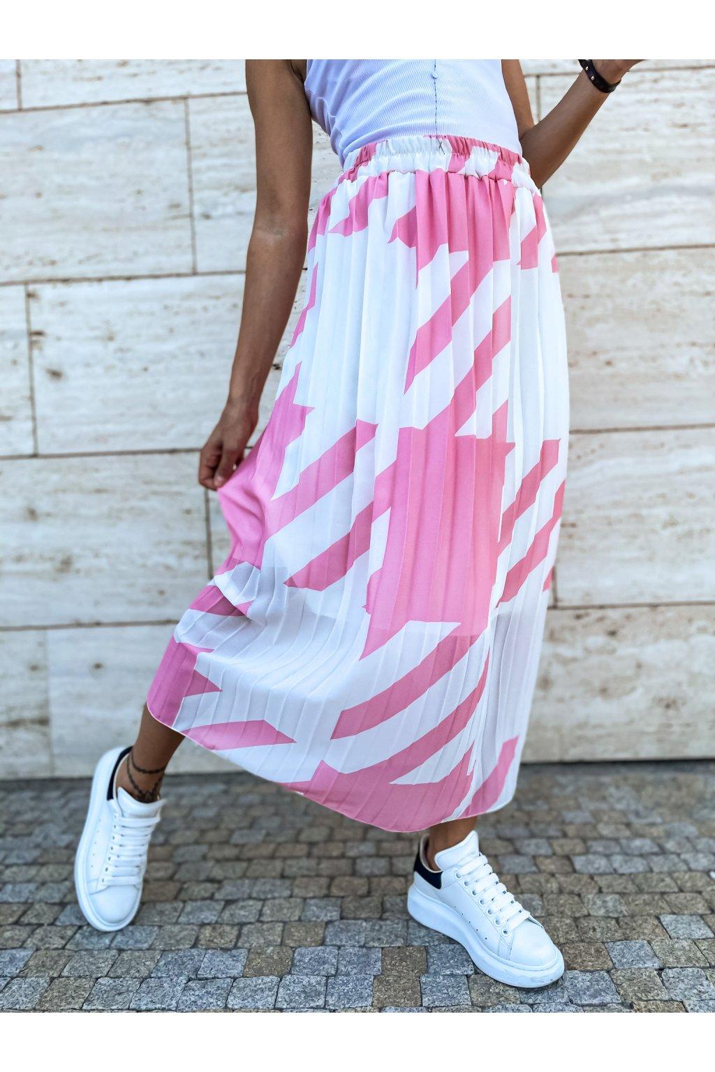 damska sukne lior powder pink eshopat cz 1
