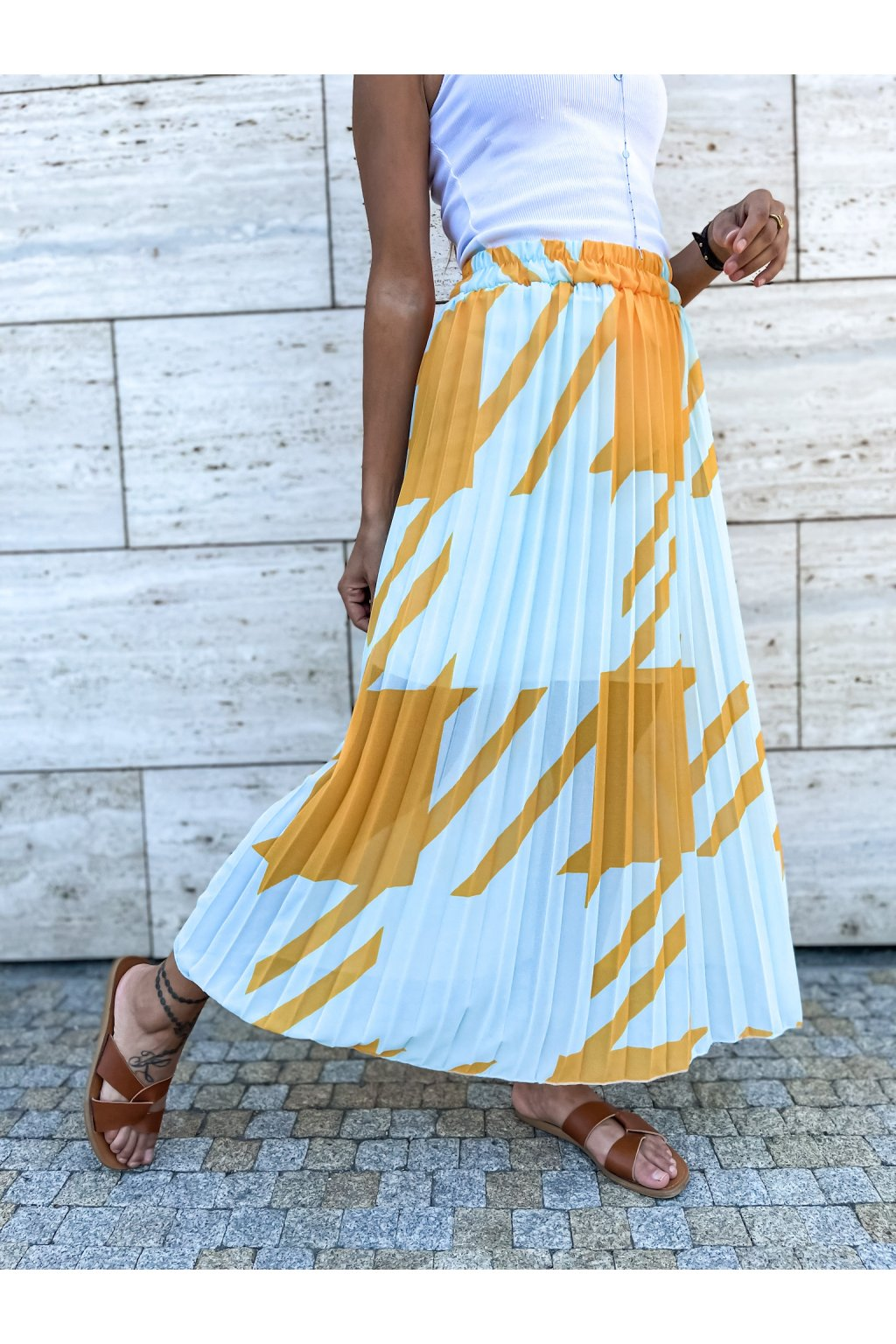 damska sukne lior mint yellow eshopat cz 3