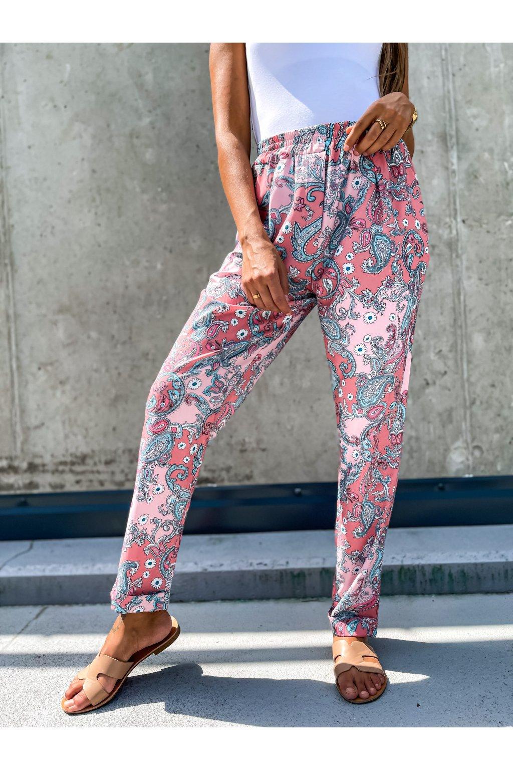 damske satenove kalhoty oriental powder pink eshopat cz 4