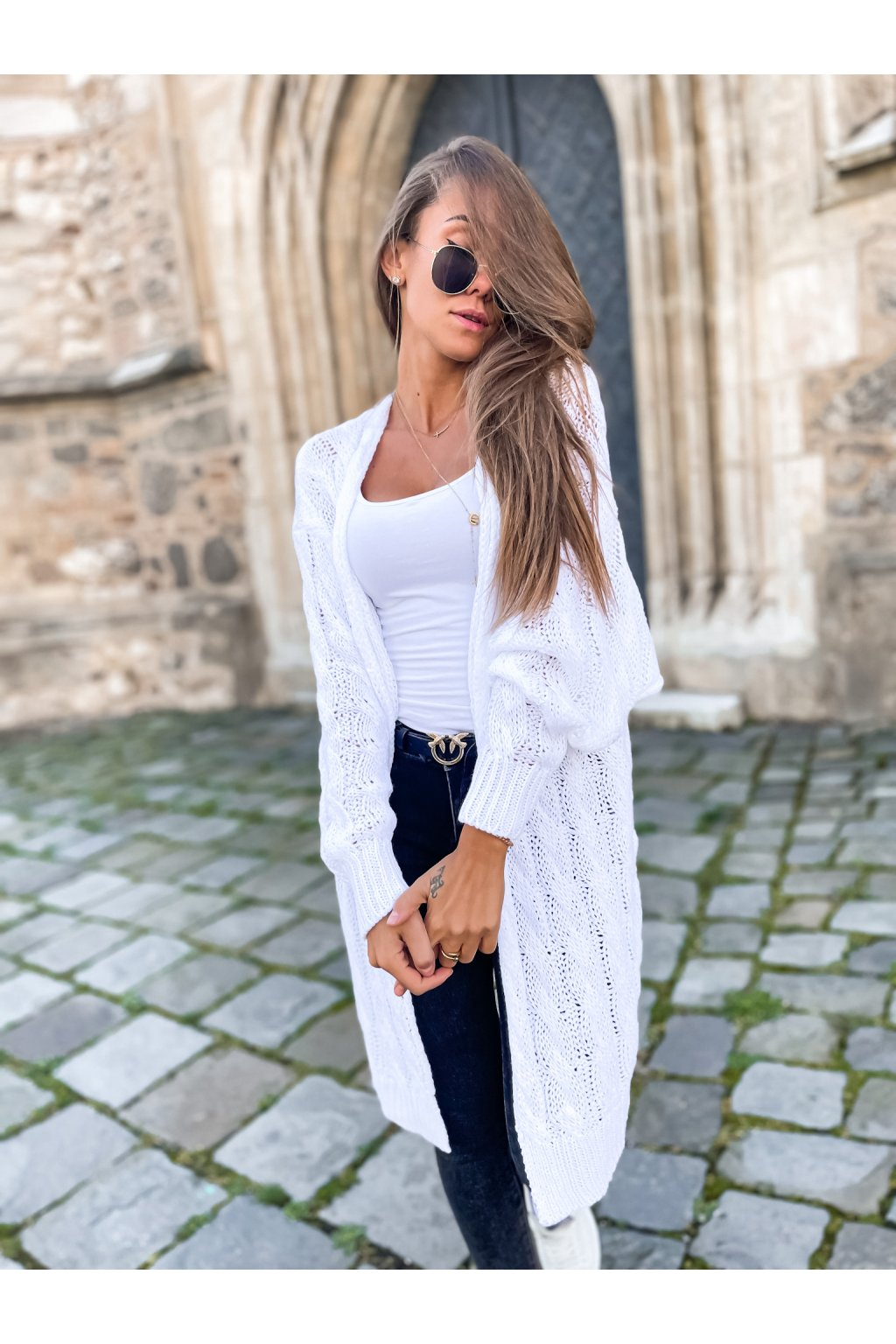 damsky cardigan daily white eshopat cz 1