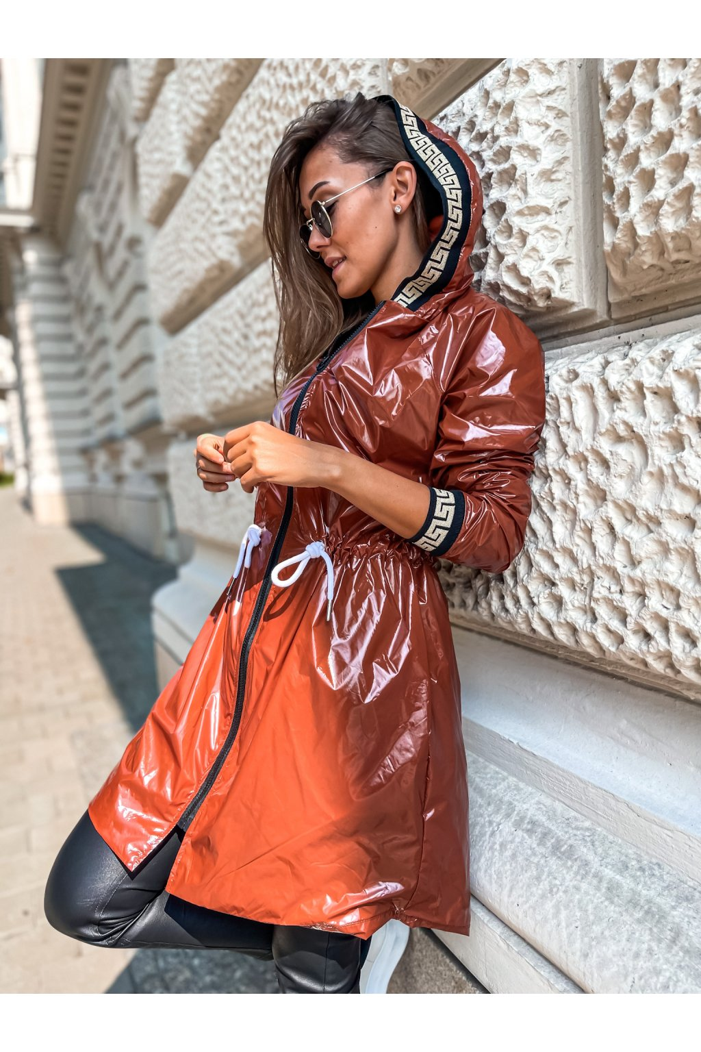 damska prodlouzena bunda verra brown eshopat cz 1