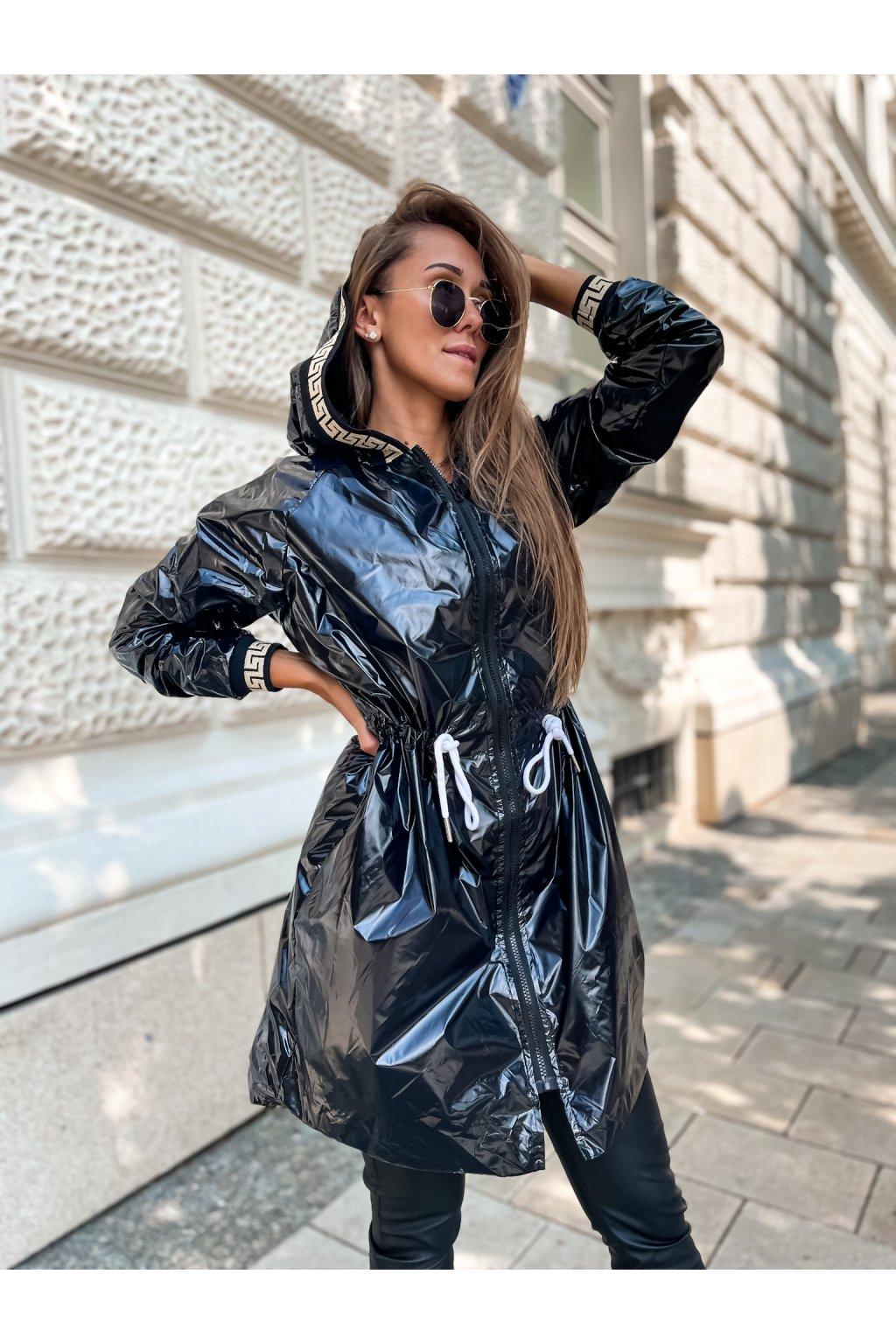 damska prodlouzena bunda verra black eshopat cz 1