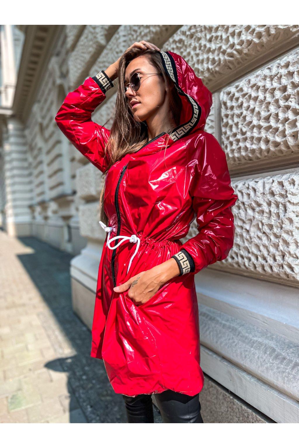 damska prodlouzena bunda verra red eshopat cz 1