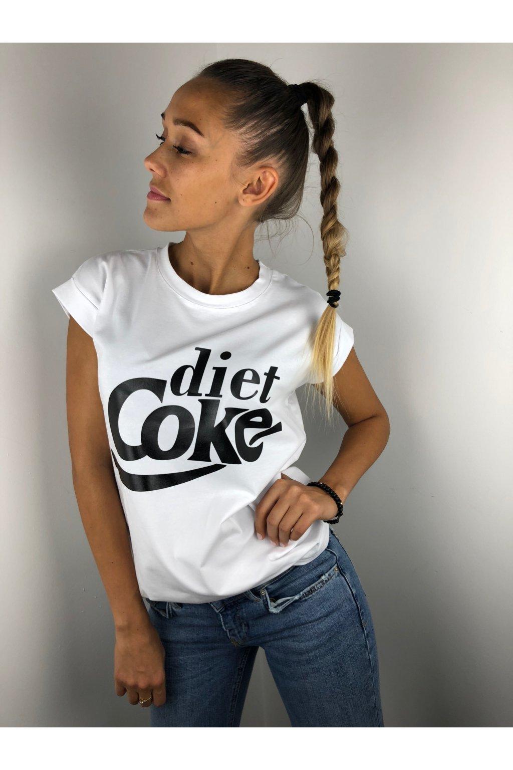 damske tricko diet coke white eshopat cz 1
