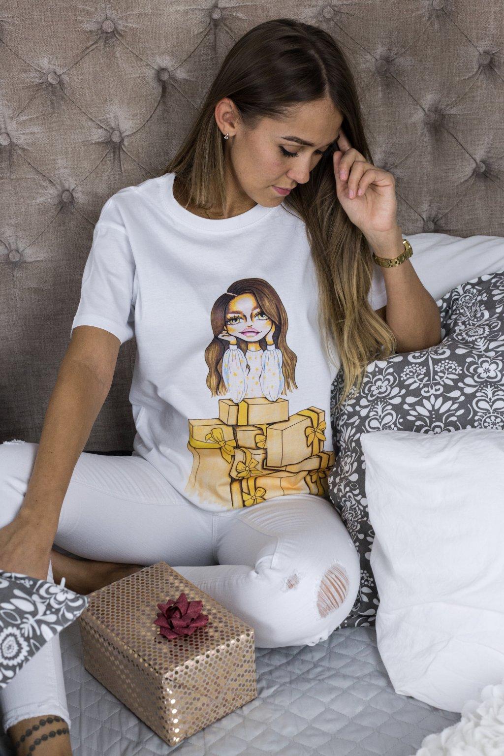 Eshopat Dámské tričko Doll Sophie