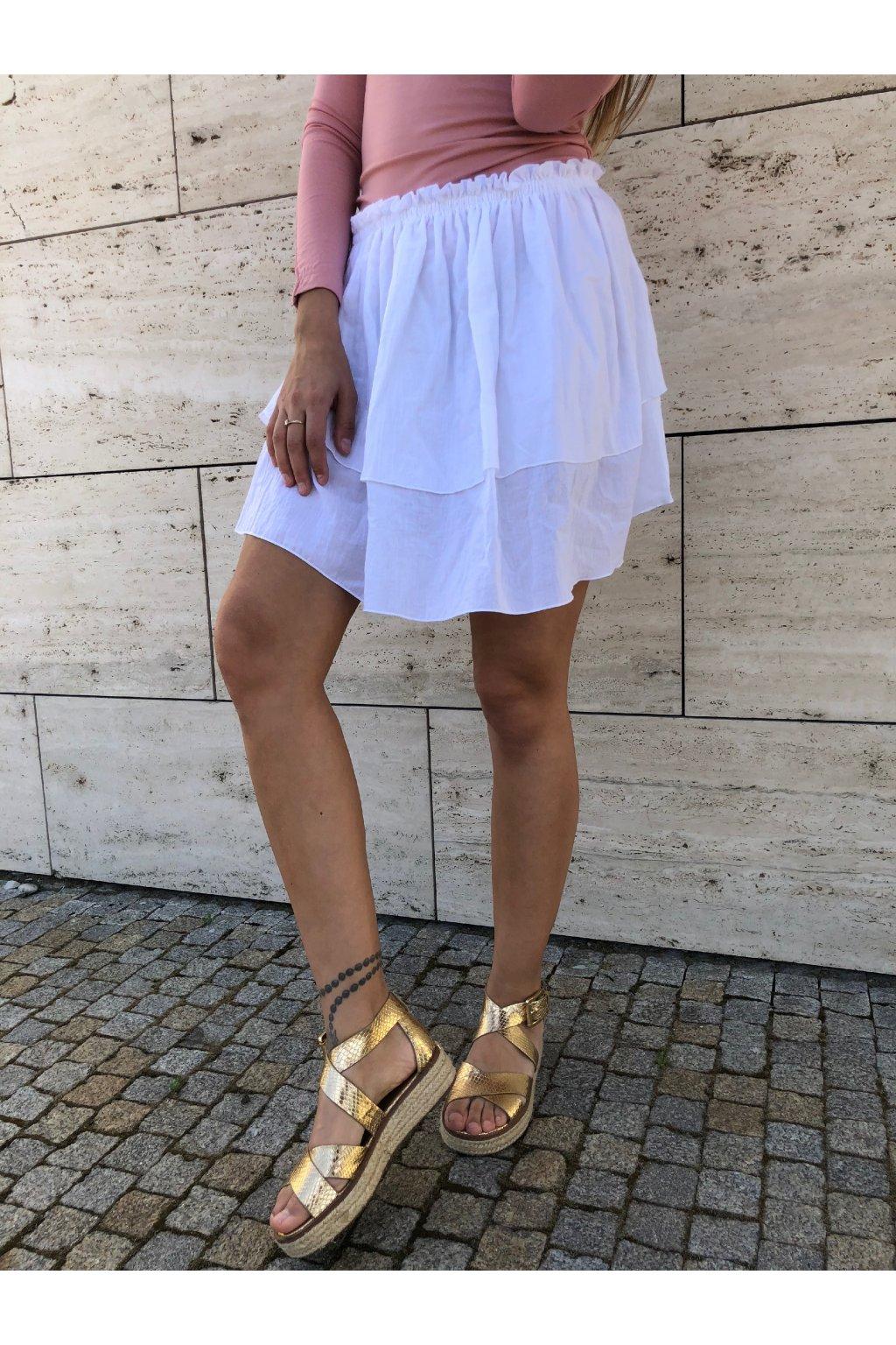 damska sukne pola white eshopat cz 1