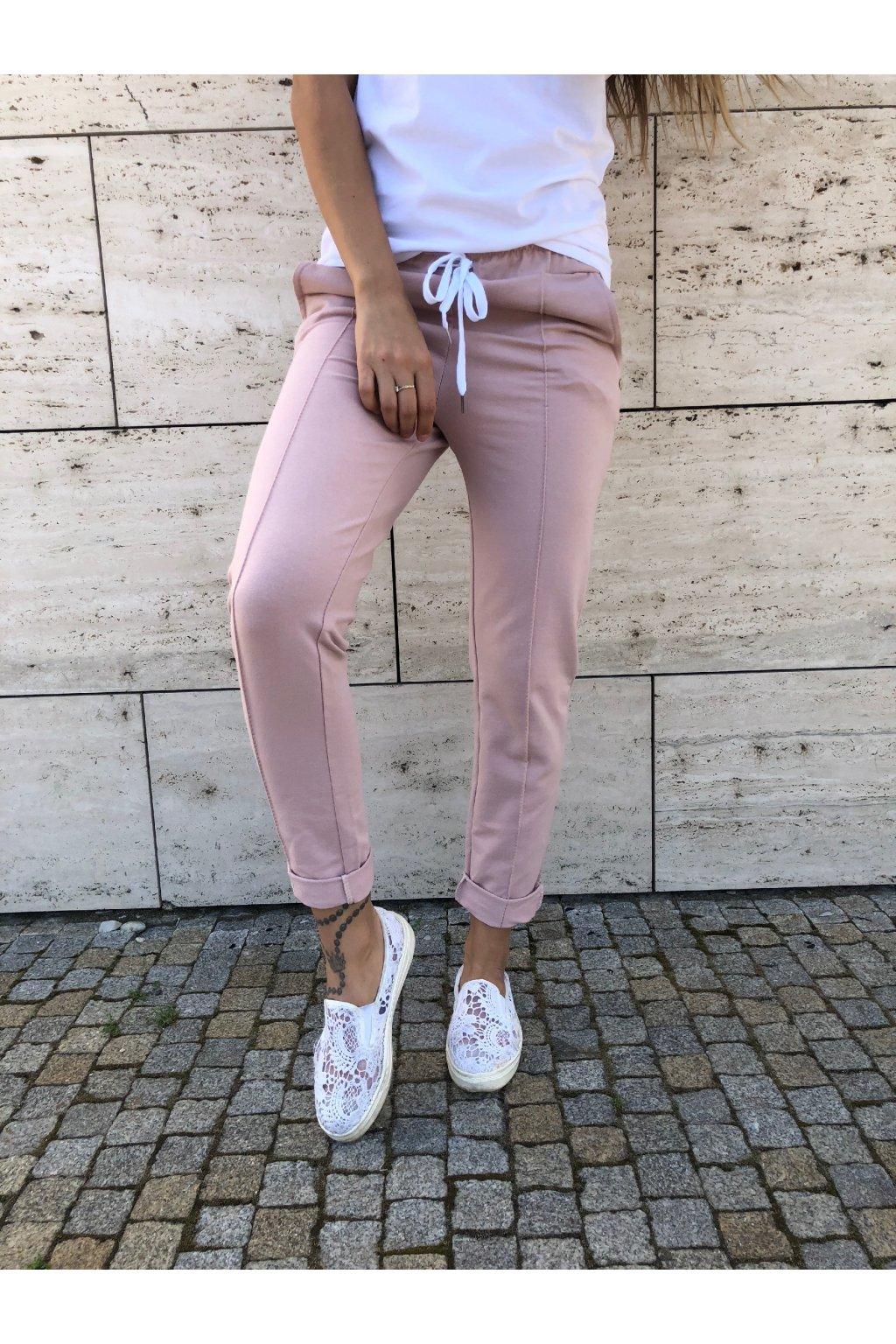 damske teplacky love powder pink eshopat cz 1