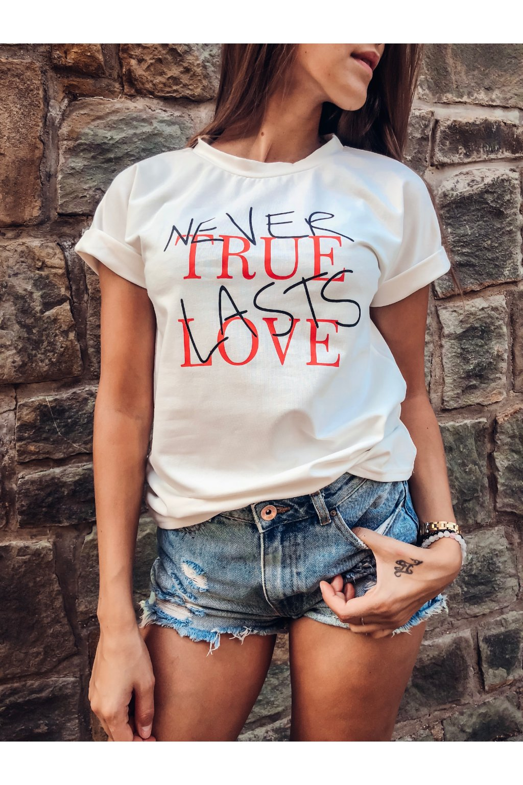 damske tricko never true lasts love white eshopat cz 6
