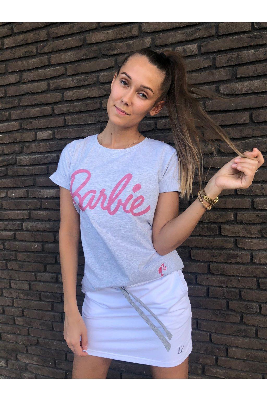 damske tricko barbie grey eshopat cz 1