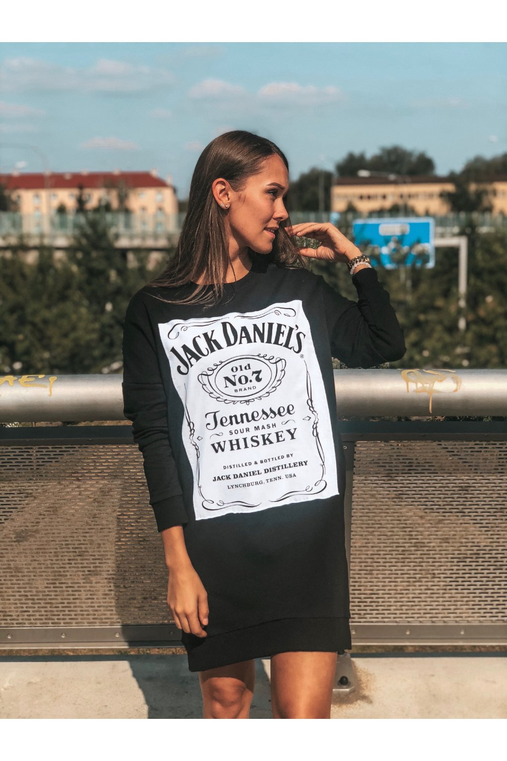 damska prodlouzena mikina jack daniels black eshopat cz 1