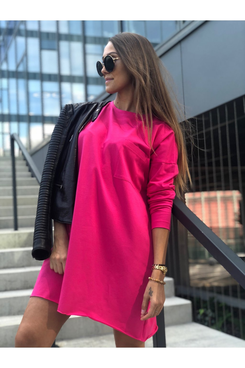 damske saty best deep pink eshopat cz 1