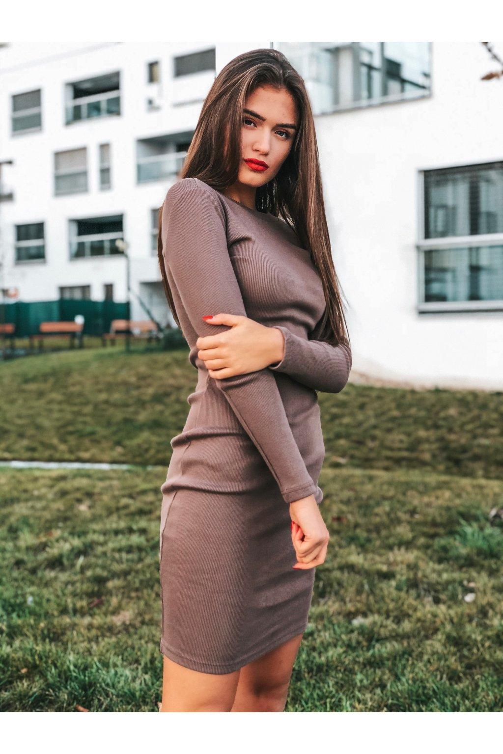 damske saty kylie chocolate eshopat cz 1
