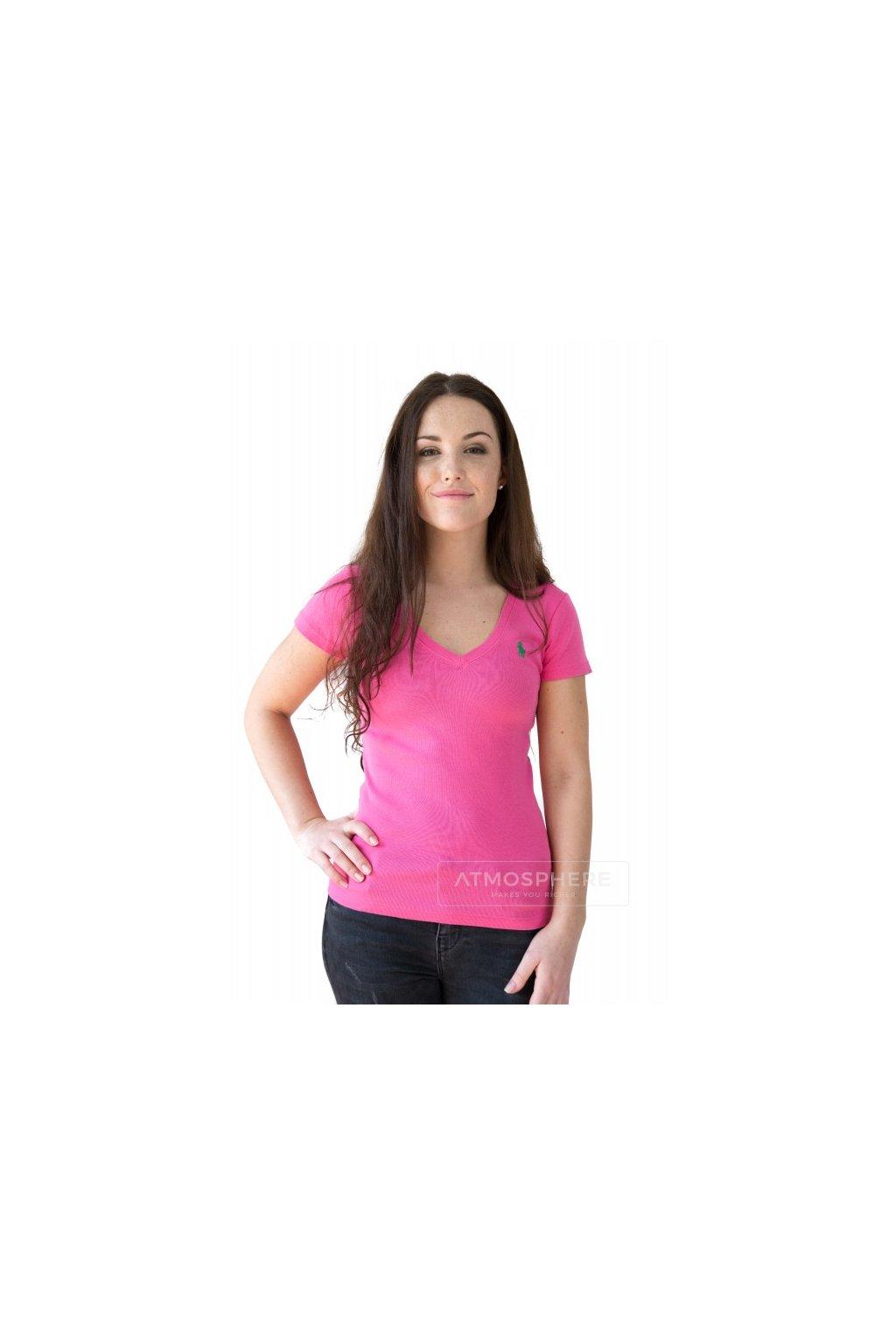 tricko ralph lauren vneck medium pink eshopat cz 1
