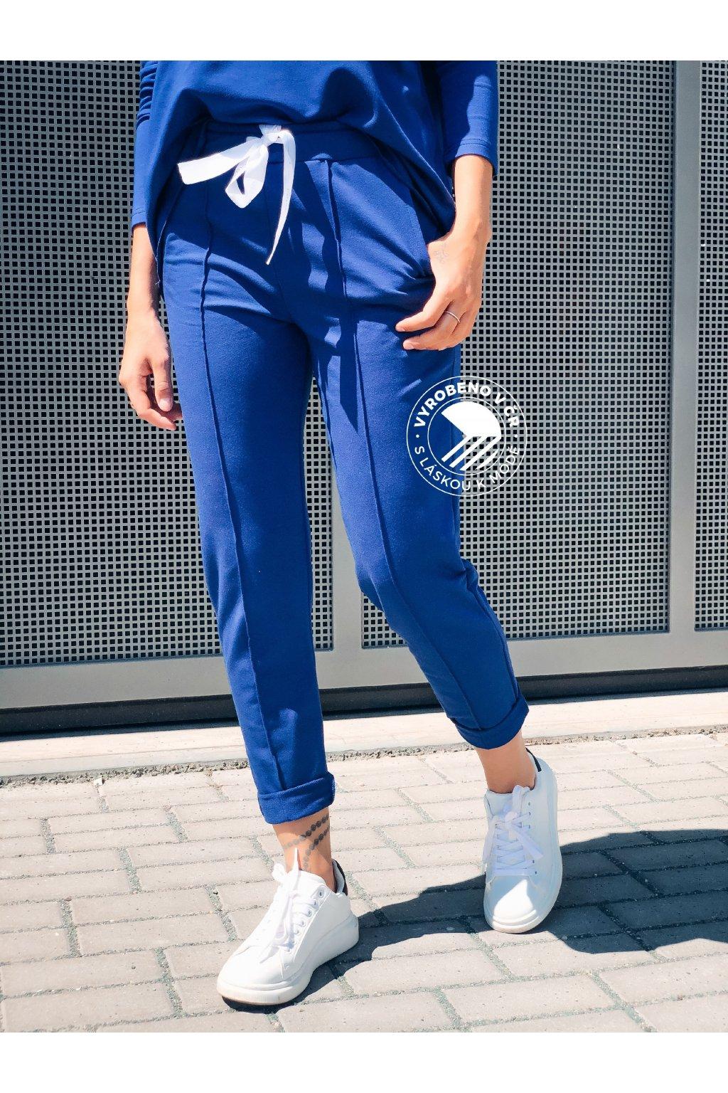 eshopat cz damske teplakove kalhoty blue