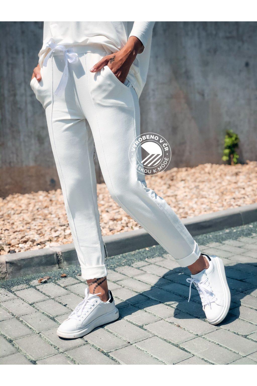 eshopat cz damske teplakove kalhoty white