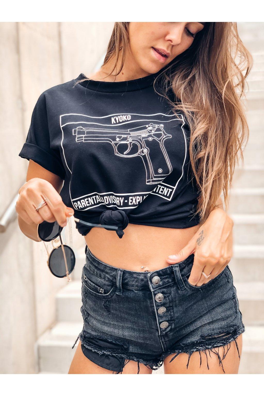 damske tricko pistol black eshopat cz 2