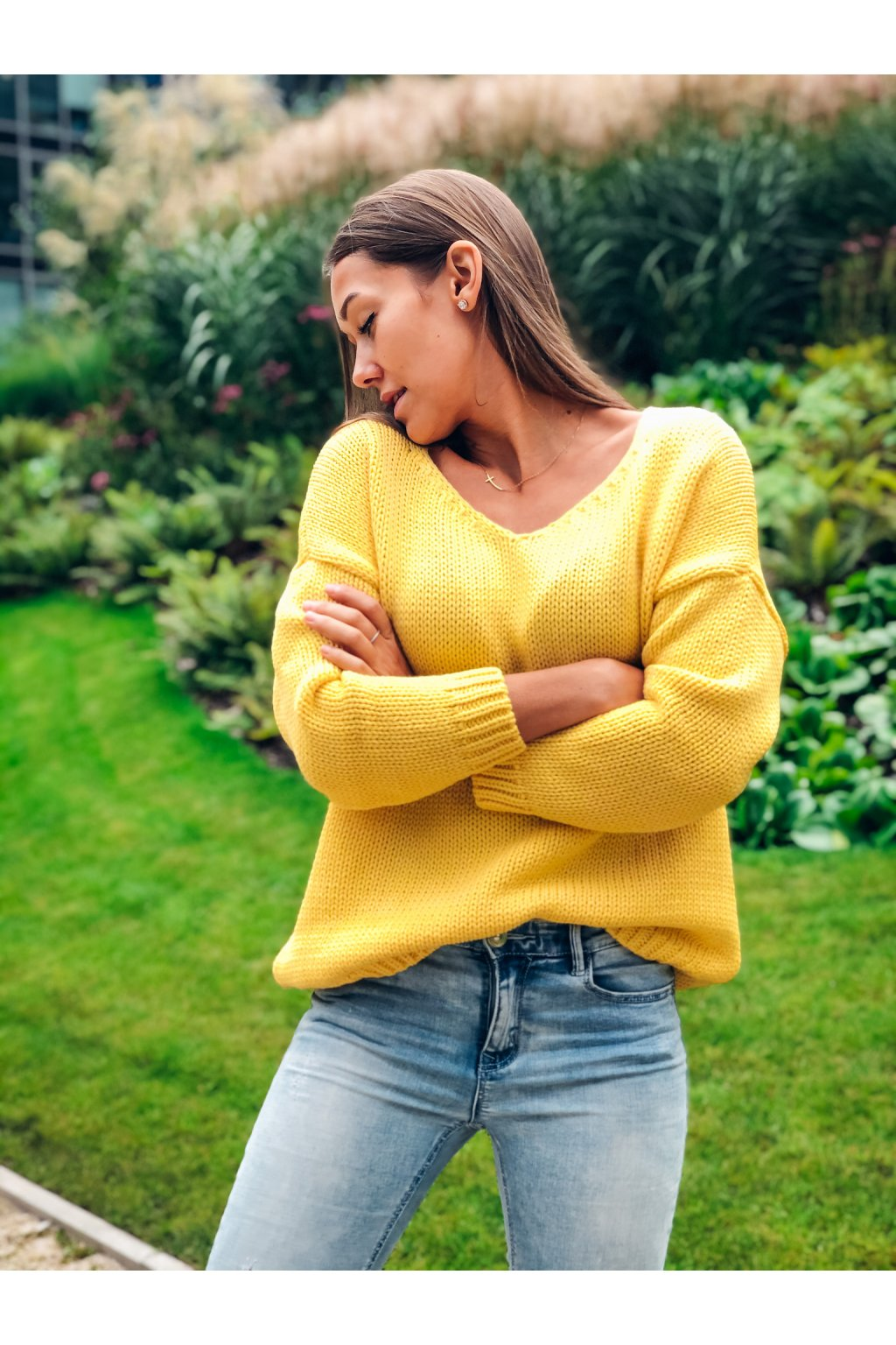damsky svetr v classic yellow eshopat cz 6