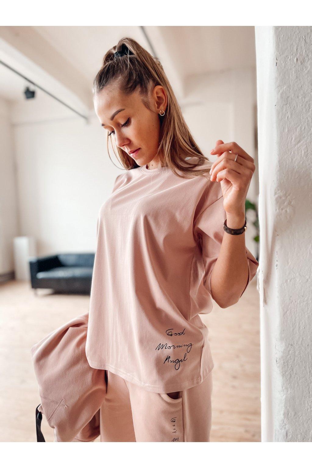 damske tricko morning angel powder pink eshopat cz 1