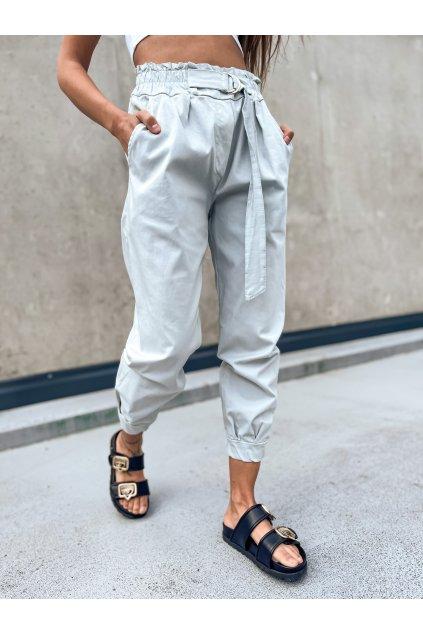 damske kalhoty s vysokym pasem italy light grey eshopat cz 1
