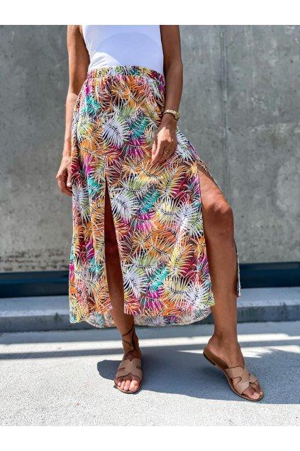 damska sukne s rozparky summer colour eshopat cz 1