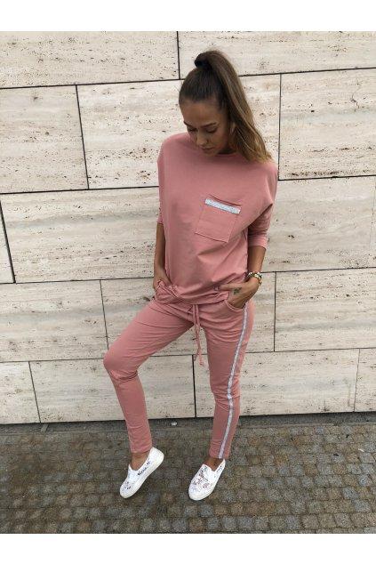 damska teplakova souprava lovely old pink eshopat cz 5