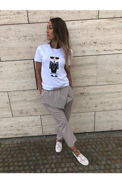 damske tricko karl lagerfeld kocktail karl t shirt white eshopat cz 1