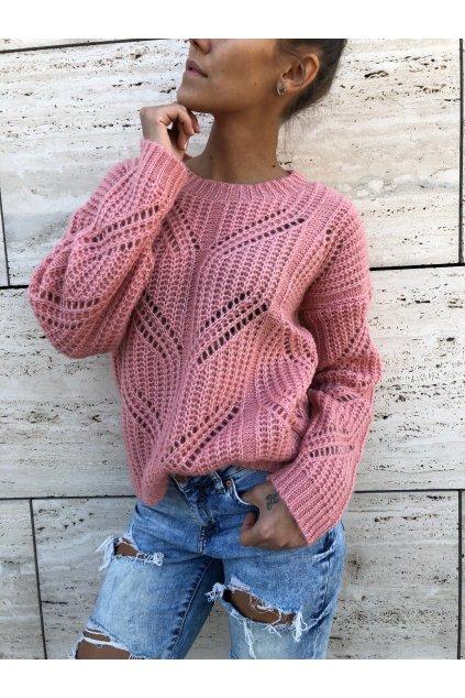 damsky svetr mel pink eshopat cz 3