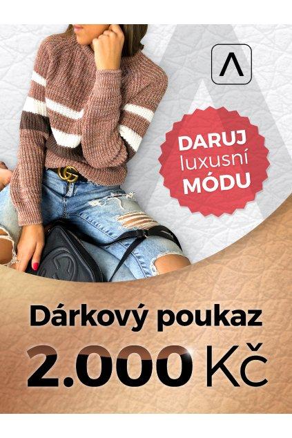 eshopat cz darkovy poukaz 2000