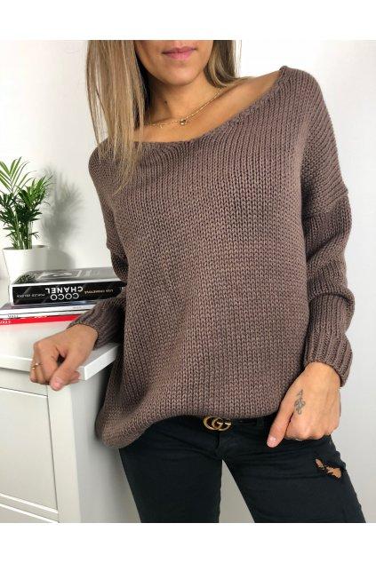 damsky svetr v classic coffee eshopat cz 1