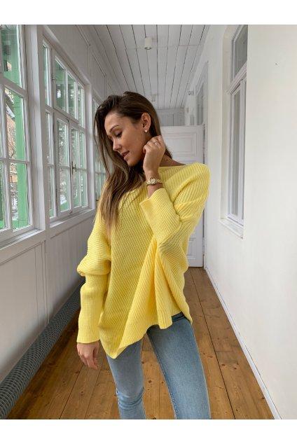 damsky svetr one yellow eshopat cz 6