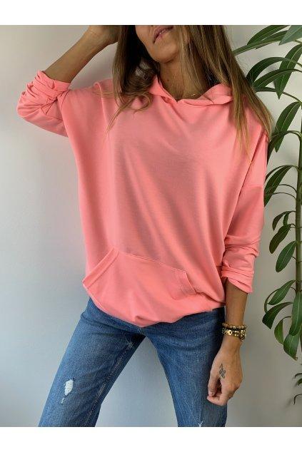 damska mikina classic pink eshopat cz 1