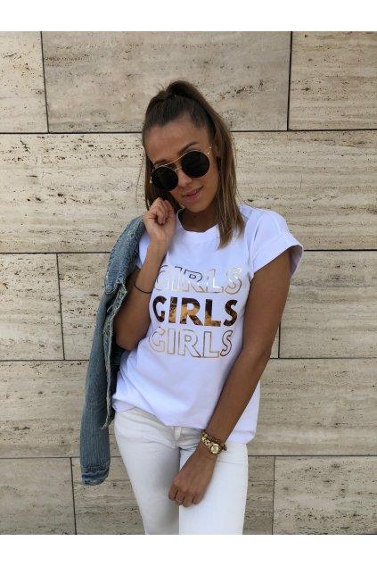 damske tricko girls white eshopat cz 1