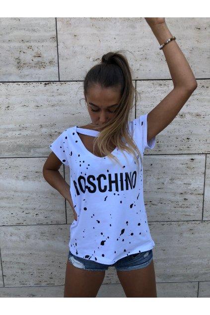 damske oboustranne tricko moschino white eshopat cz 2