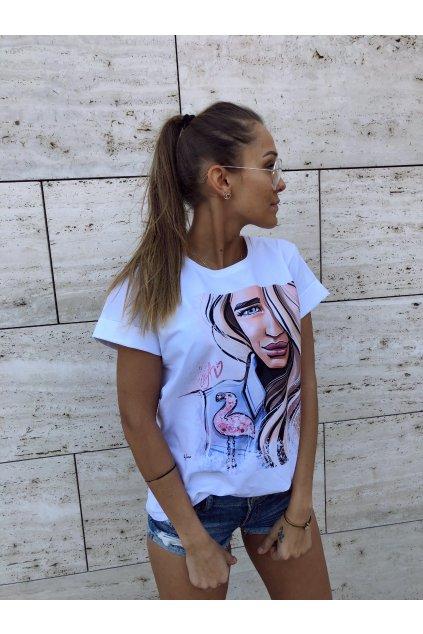 damske tricko flamingo girl eshopat cz 1