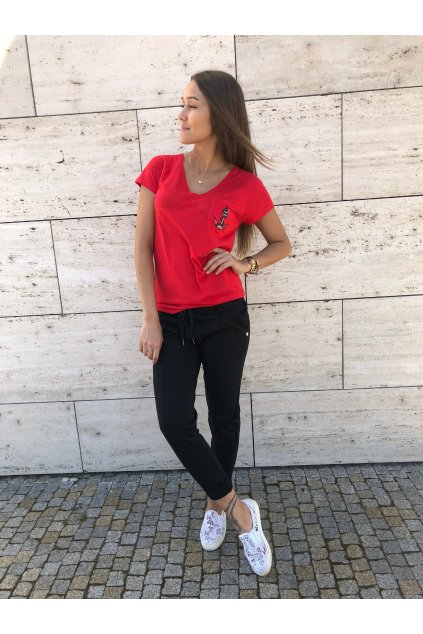 damske teplakove kalhoty love black eshopat cz 2