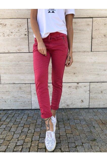 damske kalhoty super pink eshopat cz 5