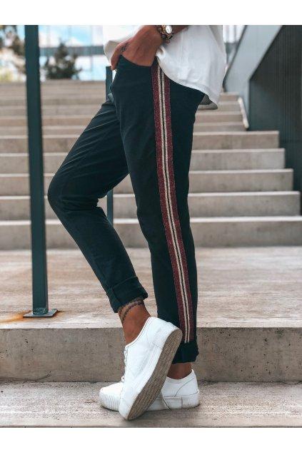 damske teplakove kalhoty stripes black eshopat cz 1