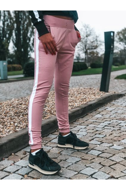 damske teplakove kalhoty one stripe powder pink eshopat cz 1