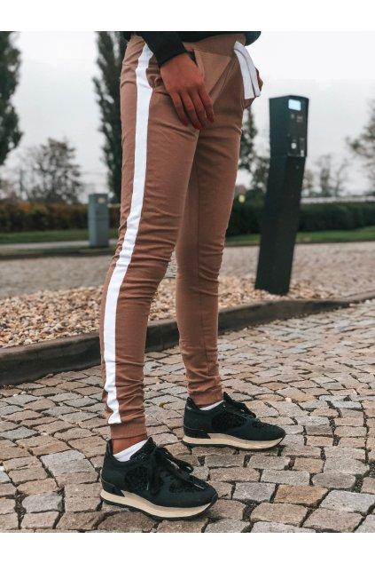 damske teplakove kalhoty one stripe caramel eshopat cz 1