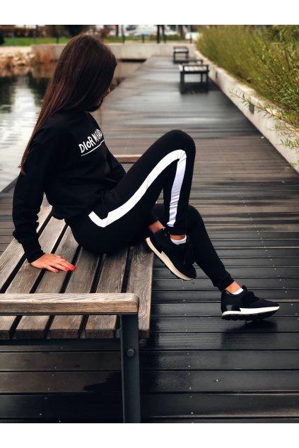 damske teplakove kalhoty one stripe black eshopat cz 1