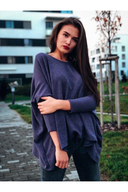 damsky svetrovy top dark grey eshopat cz 1